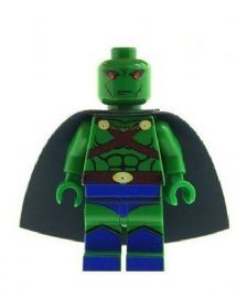 Martian Manhunter Version B - Custom Designed Minifigure